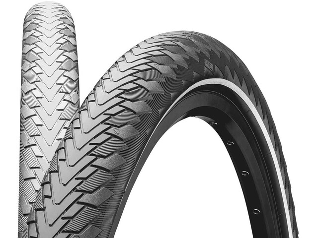 """Continental Contact Cruiser Wired-on Tire 26"""" E-25 Reflex, grey"""